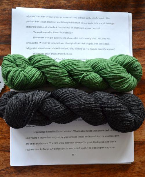 Chickadee yarn